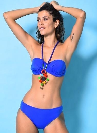 Loves You Dönmeli Bikini Takım Saks